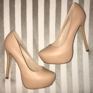 Steve Madden Leather Pumps (Brand New)